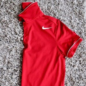 Nike Red Polo, size Medium.